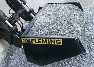 Fleming Front Loader Bucket