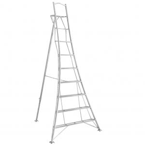Henchman Platform Tripod Ladder - 3.0m (10ft) Three Adjustable Legs