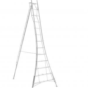 Henchman Platform Tripod Ladder - 4.3m (14ft) Three Adjustable Legs