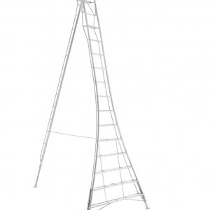 Henchman Platform Tripod Ladder - 4.8m (16ft) Three Adjustable Legs
