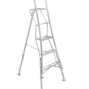 Henchman Professional Platform Tripod Ladder - 1.8m (6ft) Three Adjustable Legs