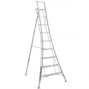 Henchman Professional Platform Tripod Ladder - 3.0m (10ft) Three Adjustable Legs