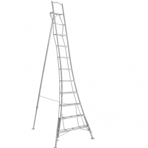 Henchman Professional Platform Tripod Ladder - 3.6m (12ft) Three Adjustable Legs