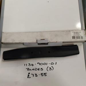 Blades 1134 -9001-01 Stiga Mountfield