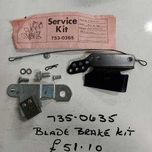 735 0635 Blade Kit MTD / Lawnflite