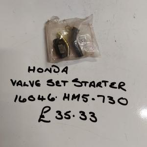 Honda Valve Set Starter 16046 HM5 .730